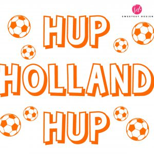 EK raamstickers hup holland